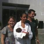 Luis, María y Carolina Bailly-Baillière con la Dra. Maite Blanco
