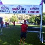 Carlos Llano, tercera etapa de Ultraman Canadá: 84,3 km corriendo