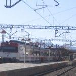El tren en la vía 2