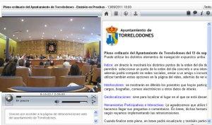 Pleno del Ayuntamiento de Torrelodones por Internet
