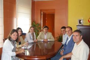 Reunión alcaldes y concejales de Torrelodones y Galapagar