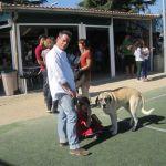 Jorge Sánz, que tiene un hijo minifutbolero, también disfruta el Mini