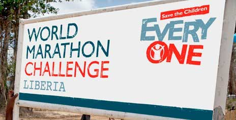 Maratón promovido por Save The Children