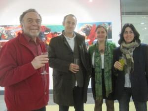 Inauguración Exposición de Alberto Alonso Bercero
