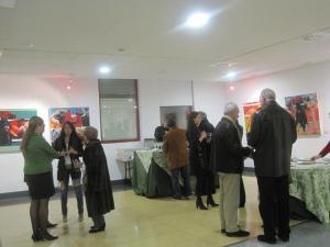 Inauguración exposición Alberto Alonso Bercero en la Casa de Cultura de Torrelodones