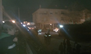 Incendio en Torrelodones (Urb. Prado de los álamos)