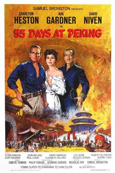Ciclo Cine Clásico en Torrelodones: 55 dias en Pekin