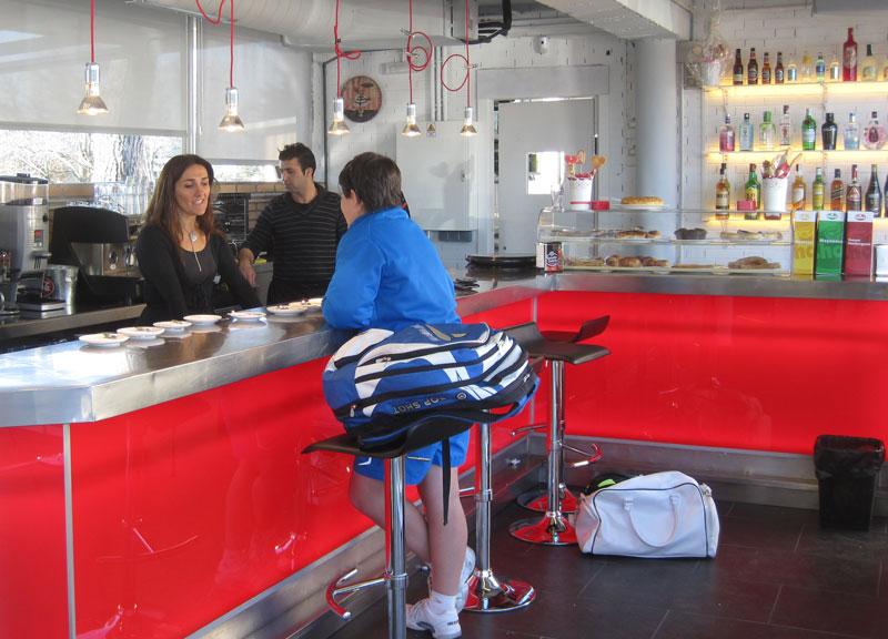 Cafetería Polideportivo Torrelodones (Foto: JuanAngelTC)