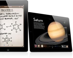 El iPad es plano, ligero y fácil de transportar de casa al colegio y viceversa
