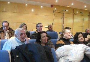 "Javier ""La Vieja"" Garcia de Leániz durante el Pleno del 14/02/2012."