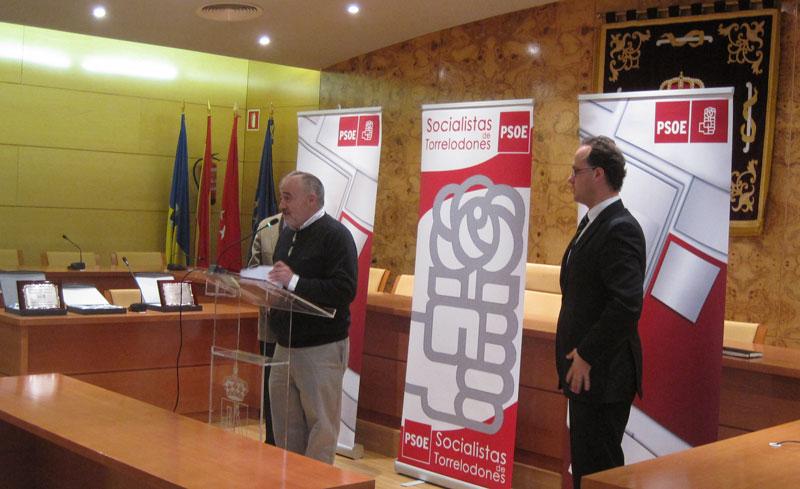 Juan Barranco, Ricardo Roquero, J.I. Díaz Bidart, Julia Ybarra y Carlos