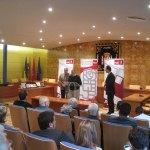 Ricardo Roquero agradece el Premio otorgado a los Camineros