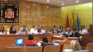 Rubén Díaz, Portavoz de AcTÚa participando en el Pleno