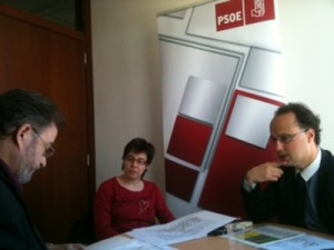Reunión de los socialistas sobre el desarrollo en Las Marías