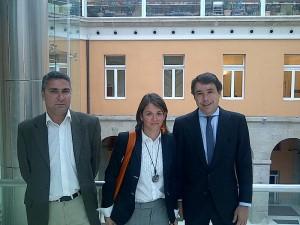 Gonzalo Santamaría, Elena Biurrun  e Ignacio González