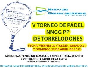 V Torneo de Pádel NNGG PP de Torrelodones