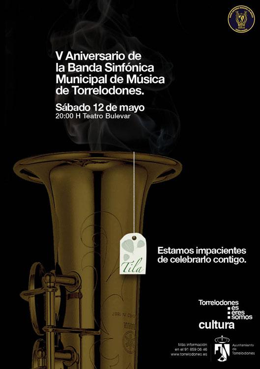 Concierto V Aniversario de la Banda Sinfónica Municipal de Música de Torrelodones