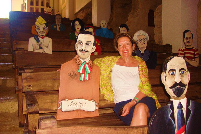 Mª Carmen Carrasco en el