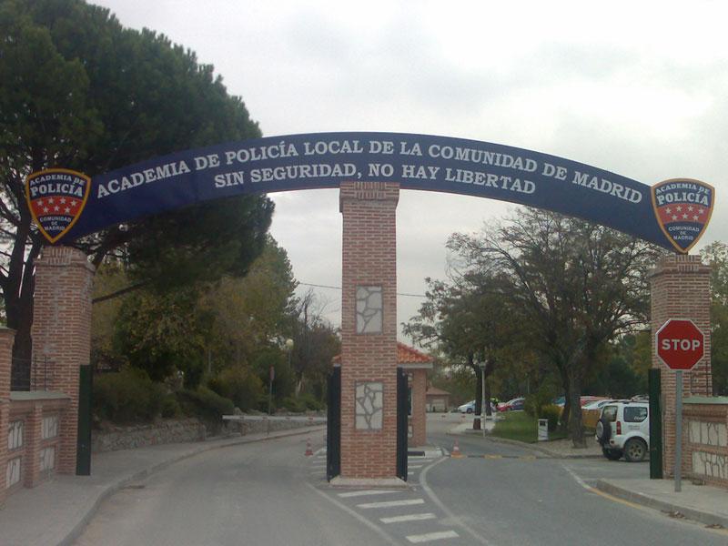Academia de Policía de la Comunidad de Madrid (Foto: Almogavar1986 - Bajo Licencia Creative Commons)