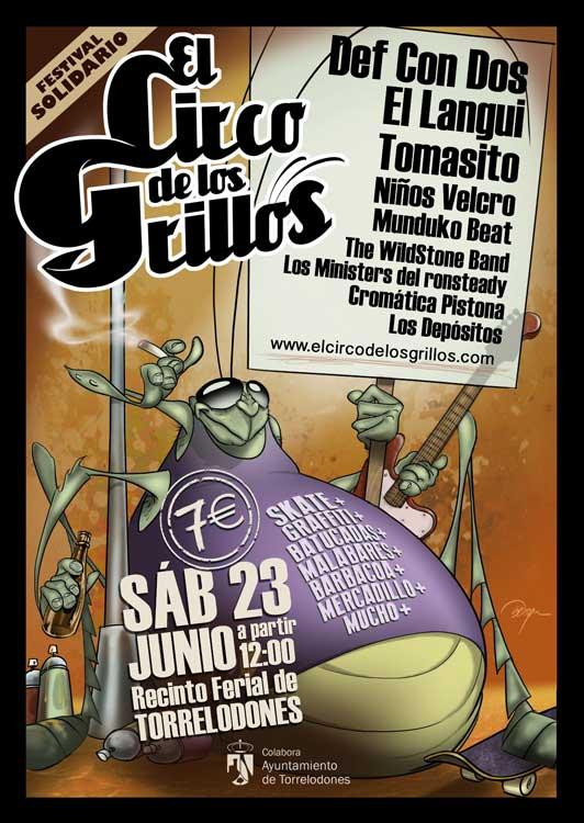 Diversión garantizada: El Festival Solidario El Circo de los Grillos vuelve a Torrelodones