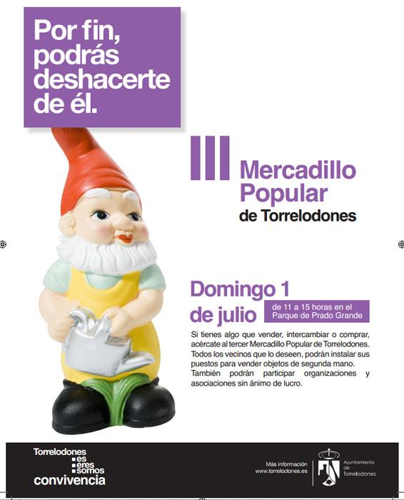 III Mercadillo Popular de Torrelodones