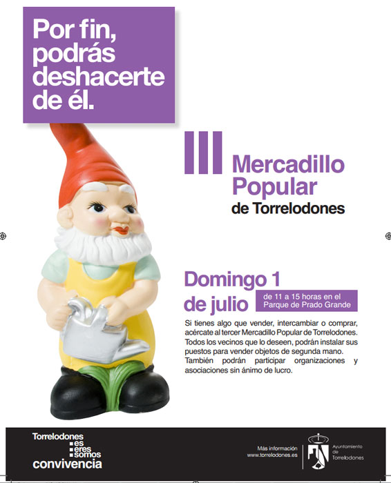 III Mercadillo Popular de Torrelodones