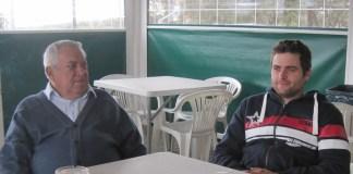 "Javier ""La Vieja"" y Javier ""Lea"" García de Leániz"