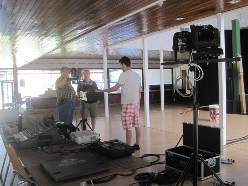 Preparativos Gran Fiesta Minifutbol Torrelodones 40 años