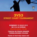 Baloncesto 3vs3 en Torrelodones - julio 2012