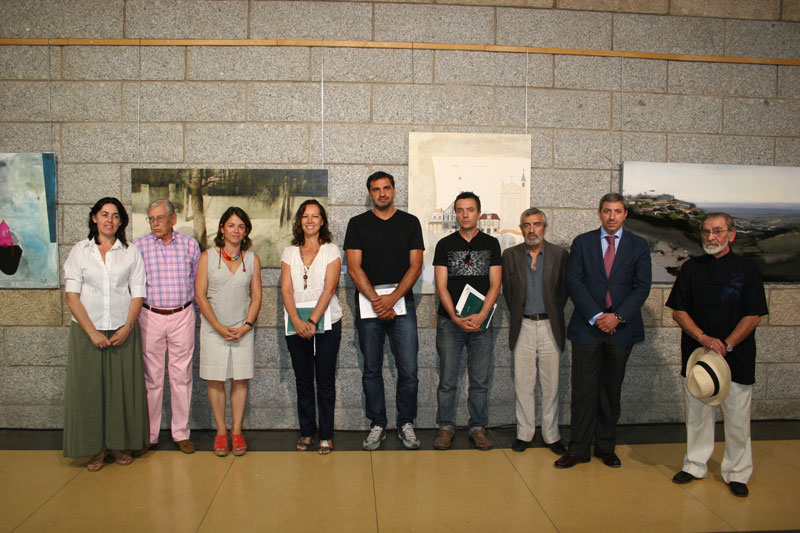 Se entregaron los Premios del XIII Certamen de Pintura en Directo Rafael Botí de Torrelodones