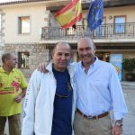 Julián de Castro (empresa de autocares J. de Castro)y Miguél Ángel Galán (Asociación Empresarial de Torrelodones)