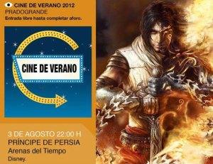 Cine de Verano en Torrelodones, Príncipe de Persia: Las Arenas del Tiempo
