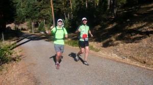 Últimos entrenamientos de los corredores ultramaratonianos de Torrelodones