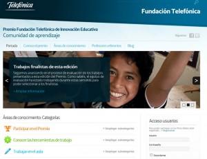 El Colegio San Ignacio de Loyola de Torrelodones es Finalista del Premio Innovación Educativa de la Fundación Telefónica 2012