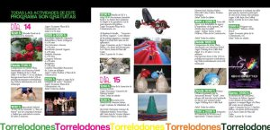 Programa Fiestas Patronales de la Asunción, Torrelodones 2012