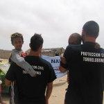 Rally Torrelodones-Mauritania - Protección Civil con los niños del orfanato