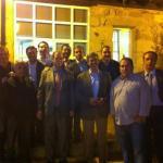 Grupo de amigos de Pancho San Román (Foto: gentileza de Ramón Gutiérrez Méndez Vigo)