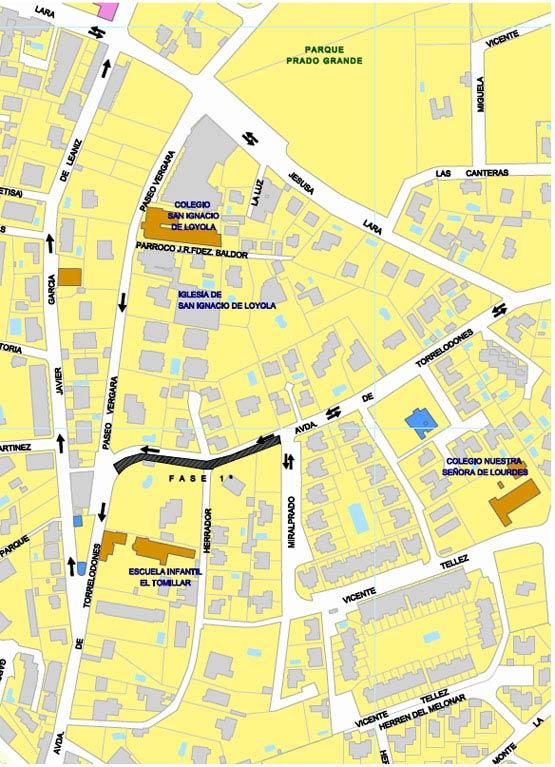 Cortes por Reparación del saneamiento existente en la carretera de Torrelodones y en la calle Jesusa Lara