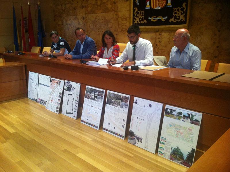 Apertura de plicas ganadores del Concurso de Ideas para parques de Torrelodones