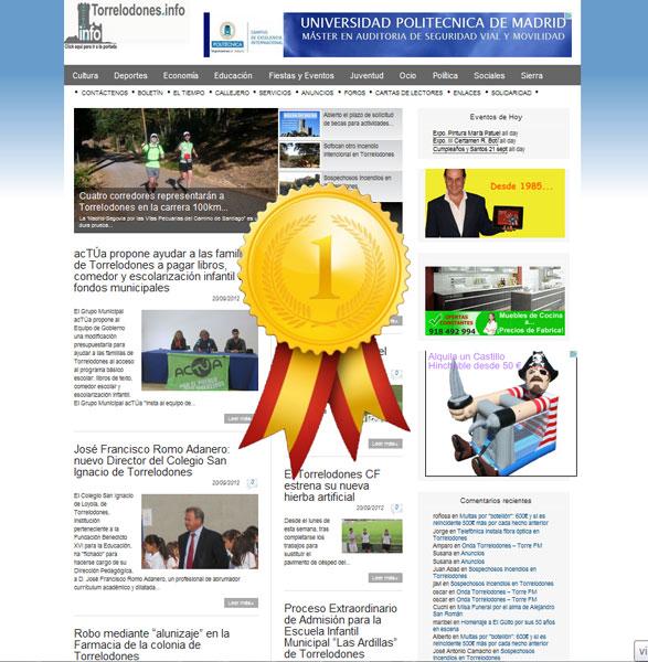 Torrelodones.info es el medio de comunicación más leído del noroeste