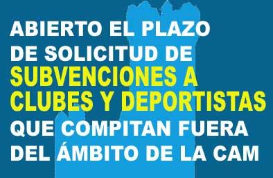 Subvenciones a Clubes y Deportistas en Torrelodones