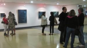 """Inauguración """"Agua en el agua"""": Exposición de Margarita Alonso Saiz en Torrelodones"""