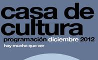 Programación Cultural en Torrelodones, diciembre 2012