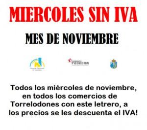 Campaña Miércoles Sin IVA en Torrelodones