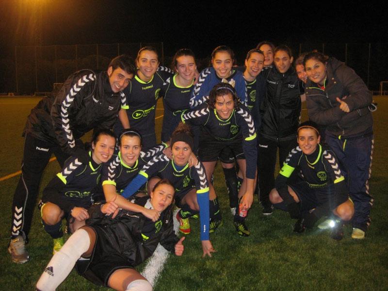 Torrelodones C.F. Femenino Campeonas del II Torneo de Navidad
