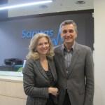 Carmen García y Juan Esteve, Directores del Centro Dental Milenium Torrelodones