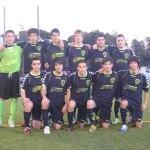 Equipo de Torrelodones en el II Torneo Juvenil de Fútbol 11 de Torrelodones