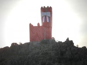 """La Torre de los Lodones envuelta """"para regalo"""" por el Ayuntamiento"""
