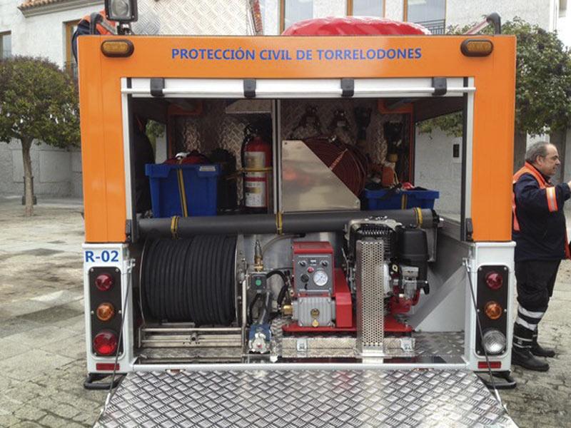 Nuevo vehículo de Protección Civil de Torrelodones