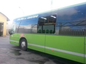 Autobús de Torrelodones atacado por vándalos que terminó con una pasajera ingresada grave
